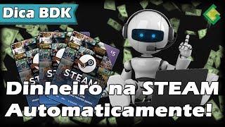 Como automatizar o eBonus para ganhar dinheiro na STEAM!