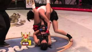 Sanja Serbia vs Lena Ukraine   Best Women MMA Fight Ever thumbnail