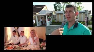 Интервью сюрприз .Свадьба Егора и Маши 04.06.16