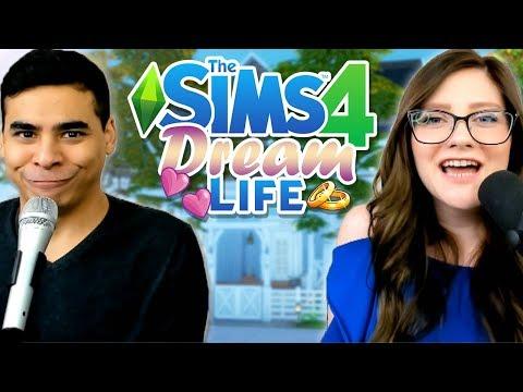 BUILDING OUR DREAM HOUSE! 🏠 // The Sims 4 Dream Life (CrashLife Season 2)