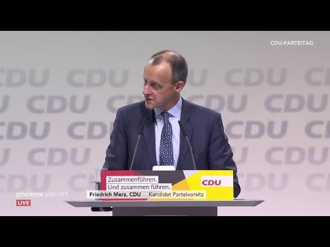 Bewerbungsrede von Friedrich Merz auf dem CDU-Parteitag
