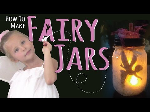 How to Make DIY Fairy Jars | Night Light | Kids Craft by Three Sisters | No Glow Sticks