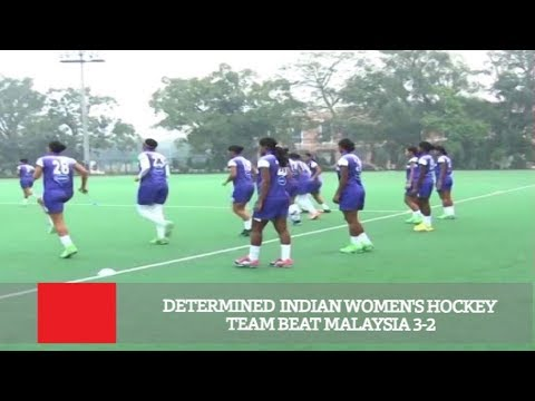 Determined Indian Women's Hockey Team Beat Malaysia 3-2