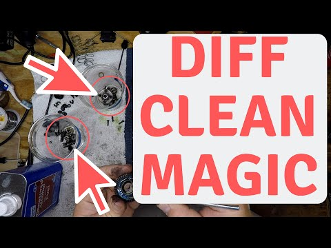 How To Clean diff fluid or shock fluid from rc cars (Round 2)