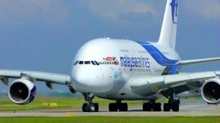 ATC Malaysia Airlines Airbus A380-841 9M-MNF Takeoff KLIA KUL WMKK