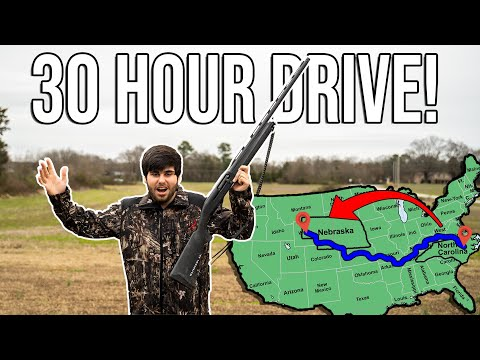 Driving ACROSS The U.S. To Duck Hunt Public Land!