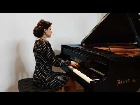 Chopin, etude op.25, Nr.7 in C-sharp minor, Dora Deliyska