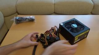 Unboxing & Overview - Segotep GP700G 600W 80+ Gold PSU