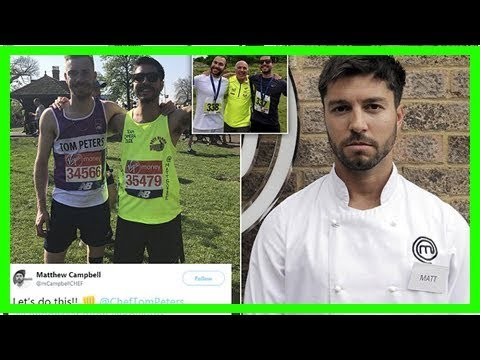 Chef, 29, who appeared on Masterchef dies during London Marathon
