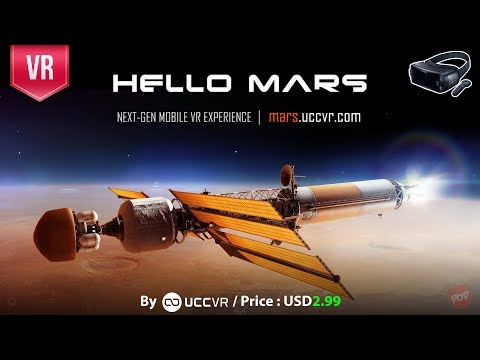 Hello Mars Gear VR - A Must have VR educational and learning with beautiful graphics and information