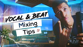 How To Mix Vocals With Beat (4 Tips⚡) (So They BLEND TOGETHER)