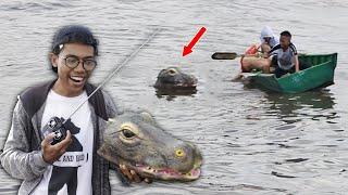 Remote Controlled Alligator Prank 2019 - Pertama di INDONESIA - cupstuwerd