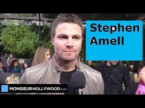 Stephen Amell, mtvma, interview, Arrow,