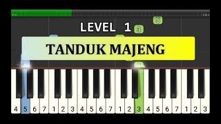 not piano tanduk majeng - tutorial level 1 - lagu daerah nusantara -  jawa timur / madura