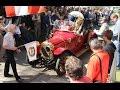 Historické automobily a motocykly na startu Veteran Rallye K?ivonoska