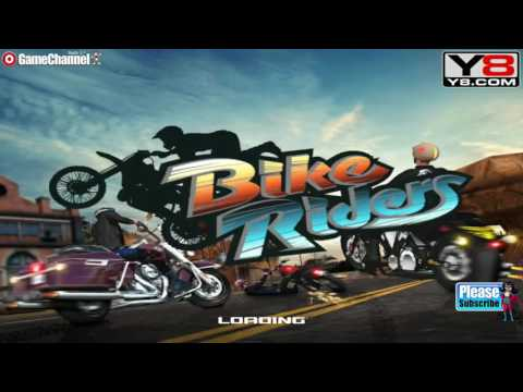 Bike Riders / 3D Bike Games / Motor Games / For Children / Flash Online Gameplay Video
