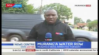 Murang'a water row:  Water wrangles persist in Murang'a County