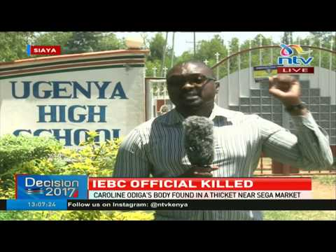Deputy presiding officer in Sega found dead by passers by who were heading to Chris Msando's burial