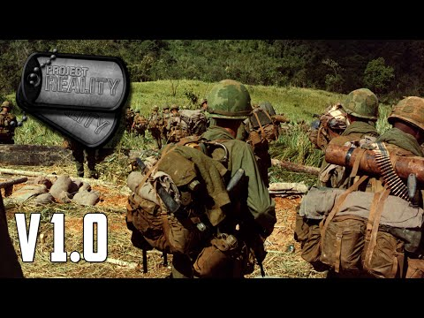 Project Reality v1.0 - US Air Cav Battle NVA Forces in la Drang Valley (Part 2)
