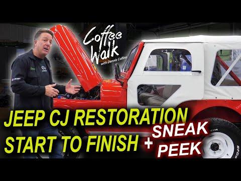 JEEP CJ RESTORATION START TO FINISH + SNEAK PEEK!!!