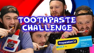 The Ultimate Toothpaste Challenge