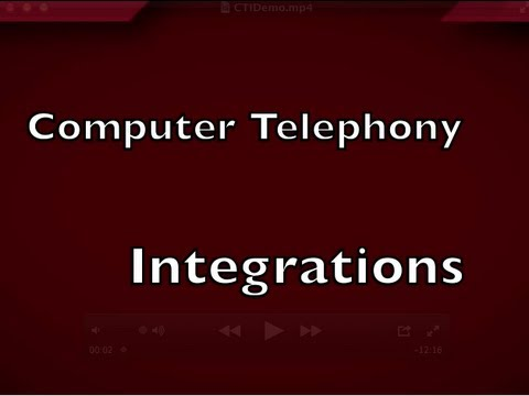 computer telephony integration essay Defining the development and test environments the first step in defining the environments for developing and testing the migration from sybase to sql.