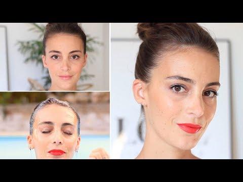 Tuto Maquillage Waterproof, été, chaleur : Jour et Soirée
