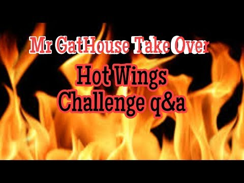 Mr GatHouse Take Over | VeGan Hot Wing Challenge Q&A | GatHouse Fitness [72]