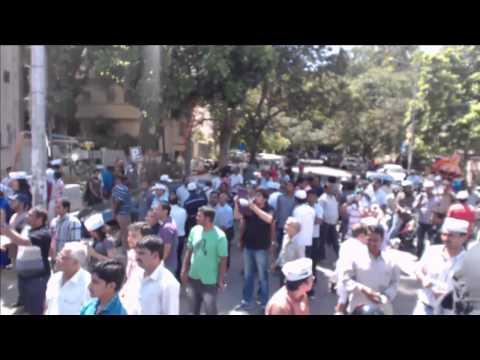 AAP Bangalore Live - Road Show