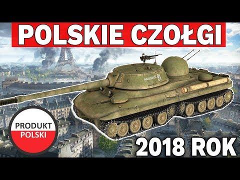 POLSKIE CZOŁGI w 2018 Roku - World of Tanks thumbnail
