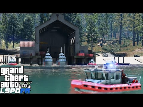 LSPDFR USCG Coastal Callouts | New Paleto Bay Coast Guard Boat Station | Speeding Boat Pursuit