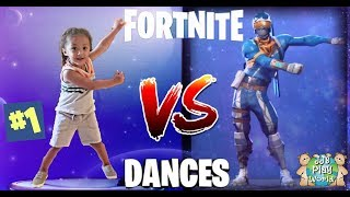 Fortnite Dance Challenge!!! In real life | Cute Toddler