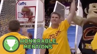 Watch: Cavs Fan DESTROYS Basketball Shootout Contest!   HM