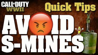 Скачать CoD WW2 How To Survive An S Mine Tips To Counter S Mines Avoid Bouncing Bettys