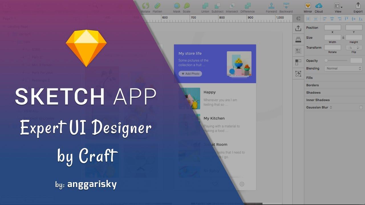 Ui designer expert by sketch app and craft plugin tutorial youtube ui designer expert by sketch app and craft plugin tutorial ccuart Image collections