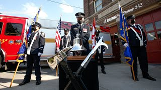 REMEMBERING THE 343: Toronto Fire Service honours the courageous FDNY