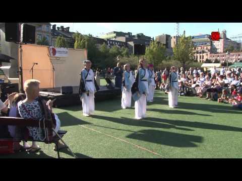 Japanese Summer festival with Bon Odori in Stockholm ストックホルムで盆踊り 2015