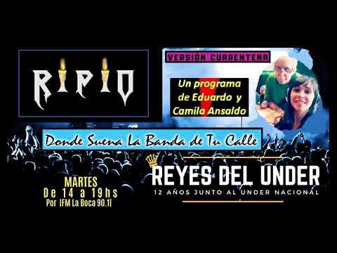 RIPIO en Reyes del under - Fm La boca 90.1
