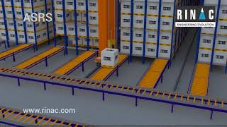 AS/RS Automated Storage and Retrieval Systems- Warehousing Technology