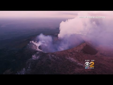 Hawaii Volcano Erupts, Sends Ash Plume 30,000 Feet Into The Air