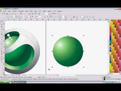 4  Corel Draw X4 tutorial - Sony Ericsson logo     | Video Tutorial