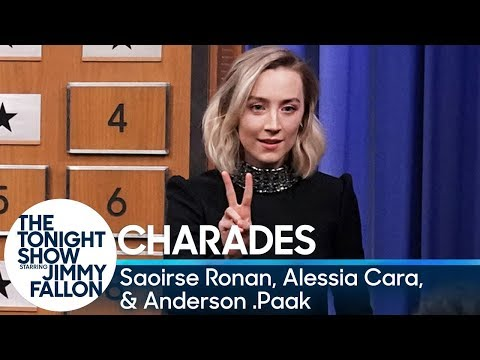 Charades with Saoirse Ronan, Alessia Cara and Anderson .Paak