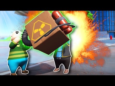 Trying To Deliver a NUKE! - Totally Reliable Delivery Service Gameplay & Funny Moments