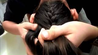 Peinado con la dona mágica y trenza invertida :D