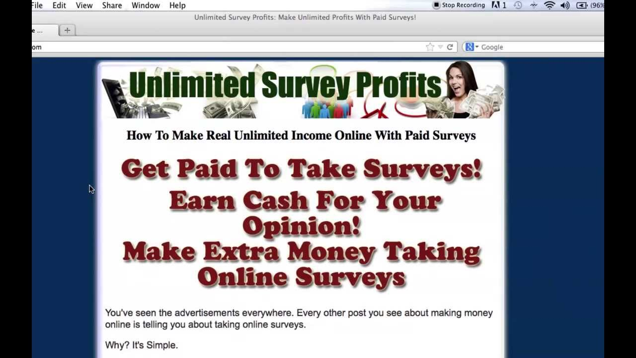 Get Your Own Paid Surveys Website! Free Giveaway!
