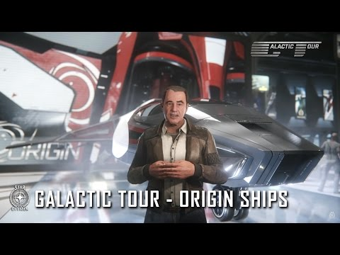 Star Citizen: Galactic Tour Origin Ships