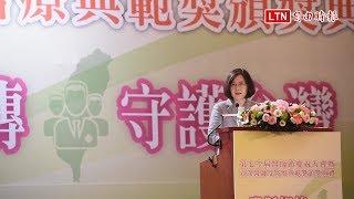 出席醫師節慶祝大會 蔡總統:持續改善醫療制度