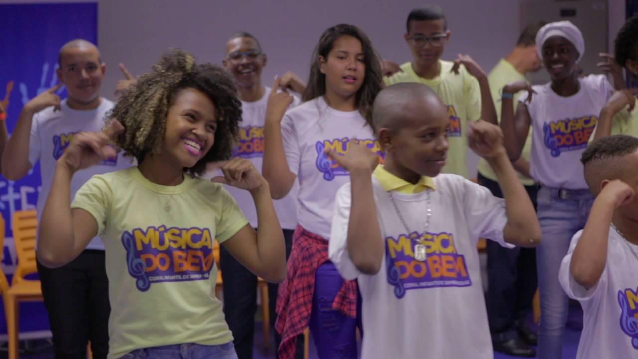 MÚSICA DO BEM - Coral Infantil de Samba-Reggae