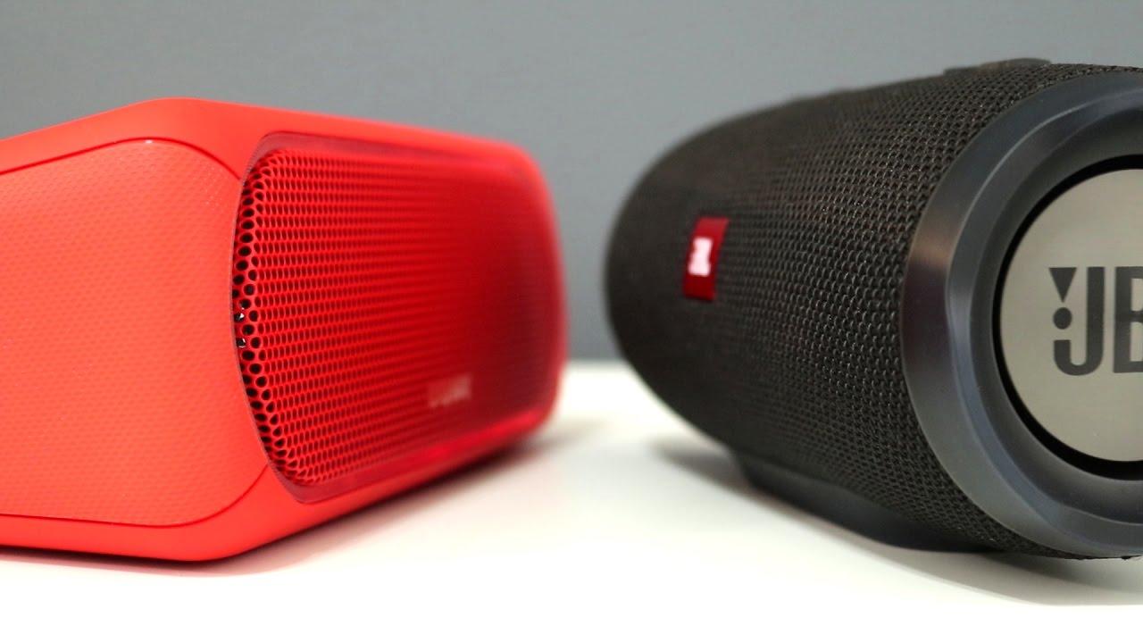 Sony SRS-XB30 vs JBL Charge 3 Wireless Speaker Comparison - YouTube 2756b0efd2249