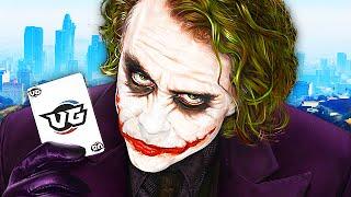 Joker TROLLING on GTA 5! (GTA V Funny Moments)